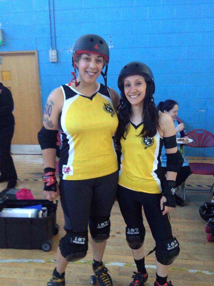 Sisters of Mersey Captain Maggie Murder and Vice Captain Grace Bones