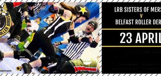 Liverpool Roller Birds vs Belfast Roller Derby